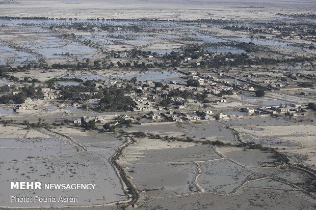 خسارت ۶۱۳ میلیارد تومانی سیل به کشاورزی سیستان